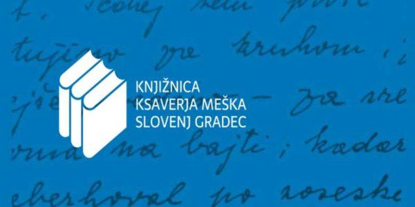 Revolver oblikovanje: Knjižnica Ksaverja Meška SLovenj Gradec - celostna grafična podoba