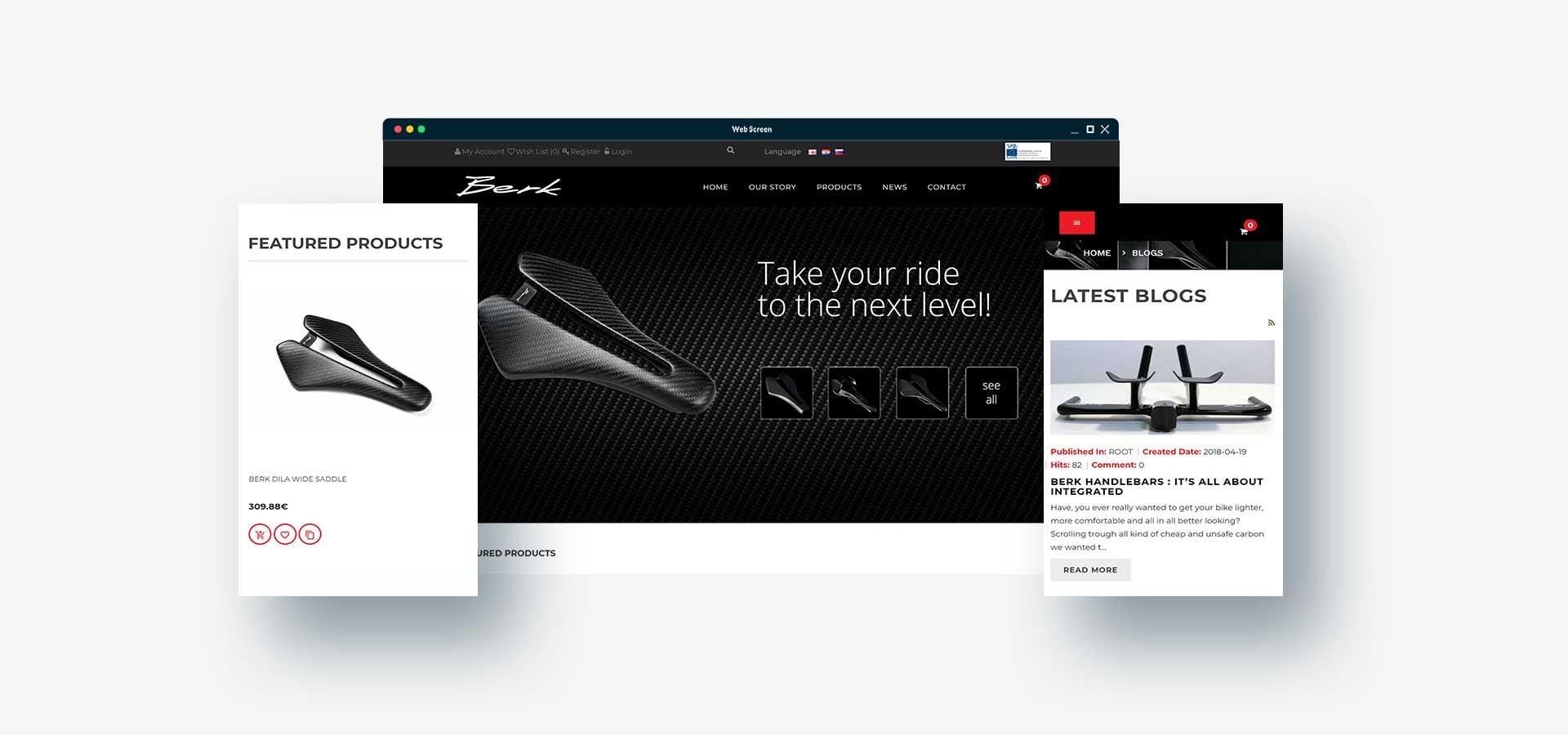 Agencija Revolver: Spletna trgovina Berk je prilagojena za mobilne naprave