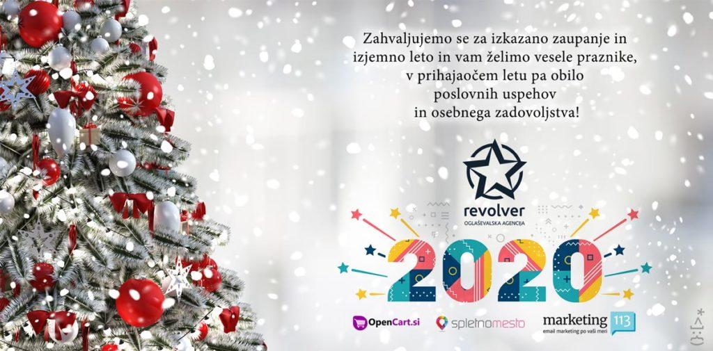 Srečno novo leto 2020 - Revolver