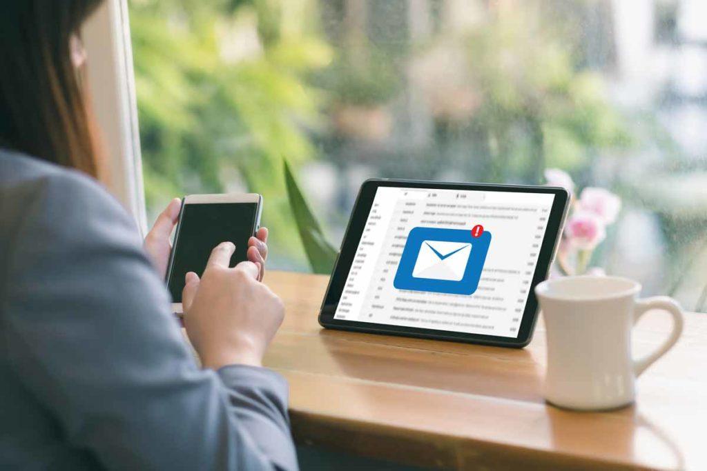 Profesionalen email je del dobre spletne prisotnosti
