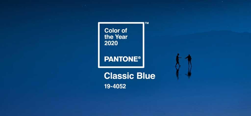 Izdelava spletne strani - Pantone barva leta 2020