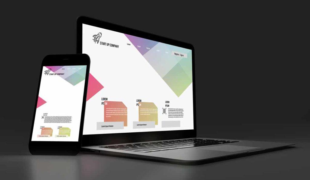 Izdelava spletne strani je mogoča iz predloge ali iz unikatnega dizajna