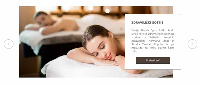 Hotel ŠPica Laško - drsniki s posebno ponudbo - Reference Revolver